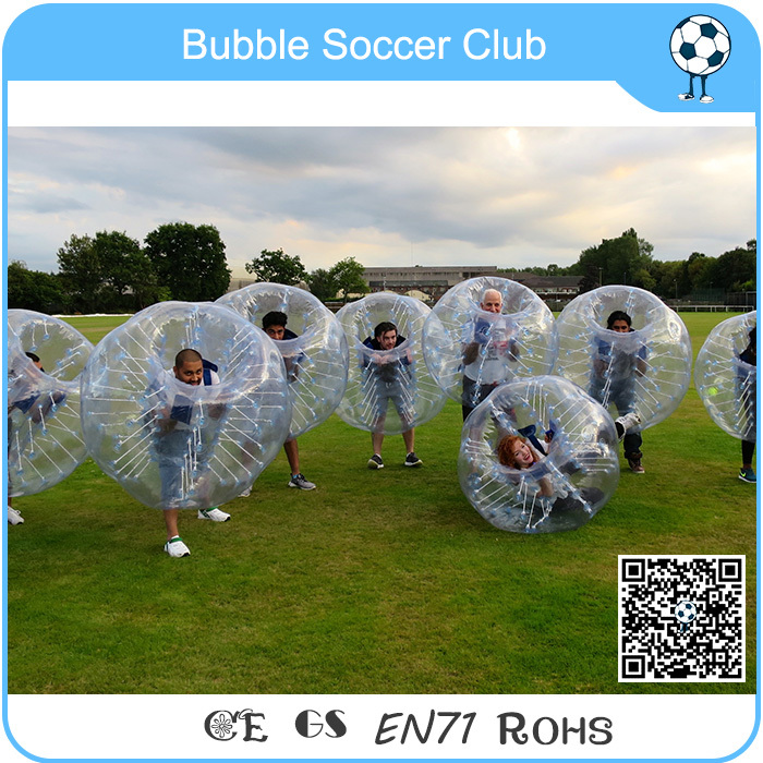 Cheap price!PVC Inflatable bubble soccer ball football