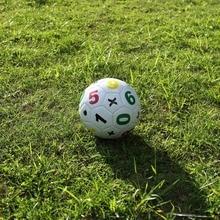 Tamaño 2 balón de fútbol niños fútbol deportes juguete intelectual con bolsa  de red aguja del aire al aire libre objetivo entren. 0337e3ca73ae5