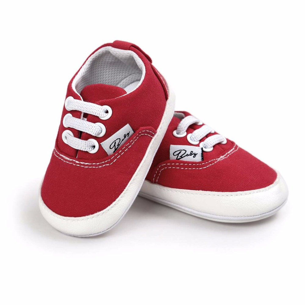 2017 New Baby Shoes Newborn Boys Girls Spring&Autumn PU Leather Anti-skid Lovely First Walkers Baby Shoes 0-18M ...