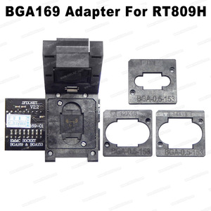 Image 1 - RT BGA169 01 V2.3 EMMC مقعد EMCP153 EMCP169 المقبس ل RT809H مبرمج 11.5*13 مللي متر إضافة أكثر 3 قطعة مصفوفة