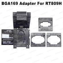 RT BGA169 01 V2.3 EMMC Seat EMCP153 EMCP169 Socket for RT809H Programmer 11.5*13mm Add more 3 pcs Matrix