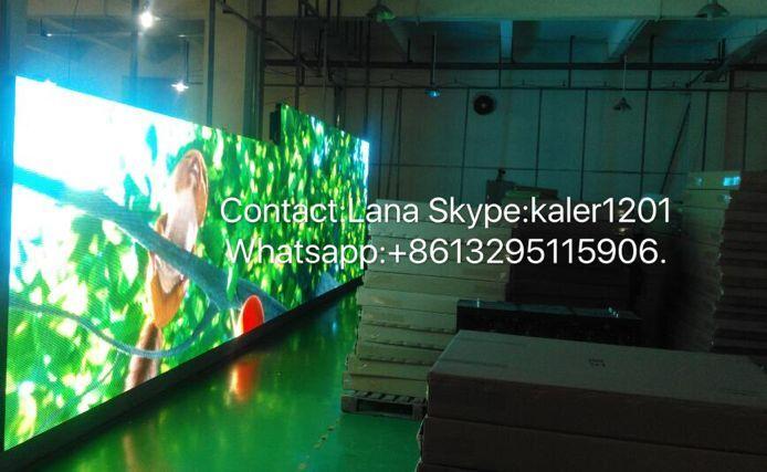 TEEHO P8 Waterproof Led Displays Outdoor Led P8 Rgb Screen Diecasting Cabinet 512mm*512mm 64*64dots Rental Ultra Slim Video Wall