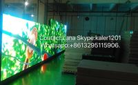 TEEHO P8 waterproof led displays outdoor led p8 rgb screen Diecasting Cabinet 512mm*512mm 64*64dots rental ultra slim video wall