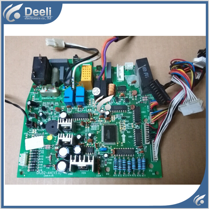 95% new good working for air conditioner pc board circuit board 3003004701 motherboard j52535 grj52-a4 on sale 95% new good working for air conditioner motherboard pc board plate zkfr 72lw 17c1 on slae