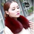 Real Fox Fur Collar Women 100% Natural Fox Fur Scarf Winter Warm Natual Fur Collar for Women  Coat Detachable Scarves C#27