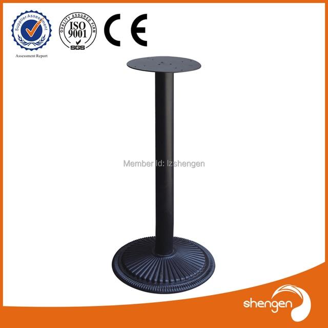 Contemporary Long Metal Steel Cast Iron Restaurant Coffe Table Leg