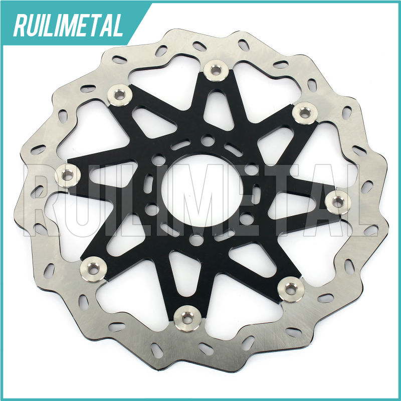 NEW WAVE FRONT BRAKE DISC ROTOR For KTM DUKE 125 2011 2012 2013 DUKE 200 12 13 free shipping aluminium wave motorcycle accessories front brake disc rotor disk for ktm 125 200 390 duke 2013 2014