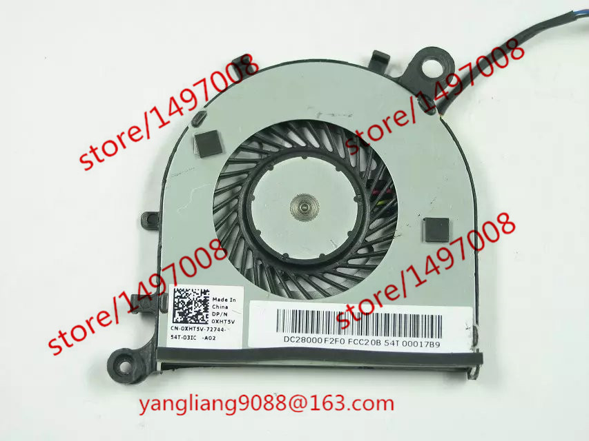 Free Shipping Emacro FCN DFS150505000T DC 5V 0.50A 4-wire 4-pin connector 40mm   Server Laptop Cooling fan free shipping for delta ksb05105hc dc 5v 0 45a 4 wire 4 pin connector 40mm server laptop cooling fan