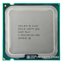 4 core INTEL Core 2 QUAD  Q6600 CPU Processor 2.4Ghz/8 M /1066MHz) Socket 775