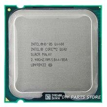 4 ядро INTEL Core 2 QUAD Q6600 Процессор 2.4 ГГц/8 М/1066 МГц) Socket 775