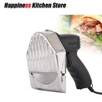 Кухня Ножи Нож для Донер кебаба с двумя лезвиями Электрический Нож для кебаба кебаб шаурма резак 110 V 240 V Ломтерезка