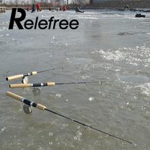 Winter Small Portable Ice Fishing Rod Pole Mini Rods Pen Fishing Prices Tackle valve 0.75M Sporting Spinning Casting hard travel