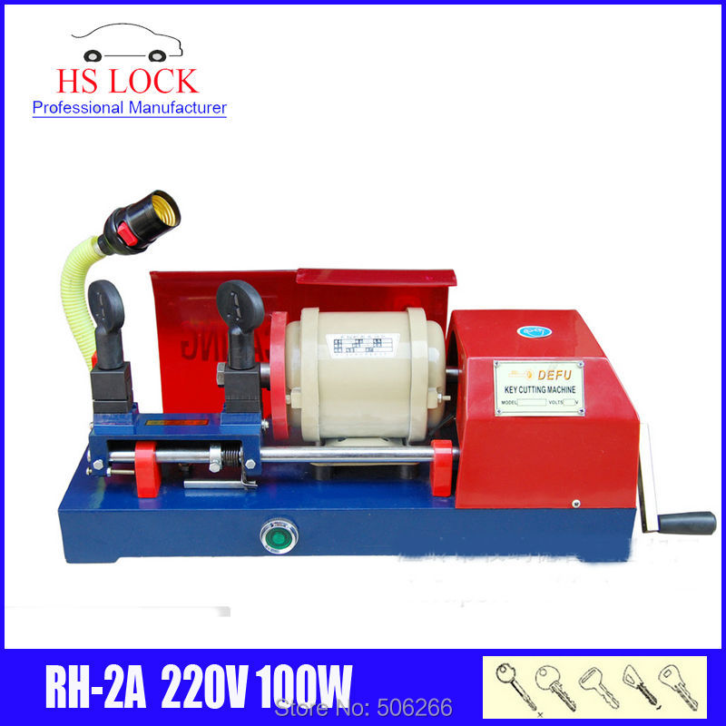 220v 100w  RH-2A key cutting machine auto car key duplication machine locksmith tools 100 шт 100% новый rh ix0155bxzz