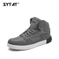 Brand Popular Newest Warm Mens Winter Boots High Quality PU Leather Clothing Casual Shoes Work Fahsion