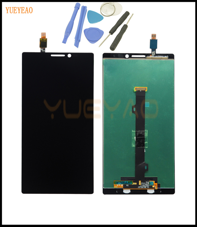 YUEYAO For Lenovo Vibe Z2 Pro K920 Full LCD Display With Touch Panel Screen Glass Assembly Replacement Parts With Tools for lenovo vibe x2 pro lcd display touch screen panel with frame digitizer accessories for lenovo vibe x2 pro x2pt5 5 3 phone