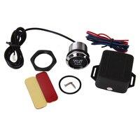 12V Car Engine Start Push Button Switch Ignition Starter Kit For All Car Blue