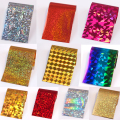 10Pcs Set Starry Sky Nail Foils Shimmer Nail Art Transfer Sticker Decal Fashion DIY Nail Tips Decoration 4*20cm