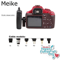 Meike проводной пульт дистанционного управления затвора костюм для Sony a550, A500, A450, A400, A350, A300, A200, A100, A77 S1 как RM-S1AM