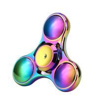 Rainbow Colors Titanium Alloy EDC Hand Fidget Spinner High Speed Focus Toy Gift A5024