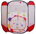 Dobrável Teatro para Crianças Brinquedo Tenda Pit Bola de Presente de Aniversário para o Bebê 122X105X97 CM
