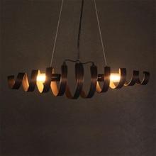 American Retro Loft Iron Pendant Lights Vintage Industrial Wind Pendant Lamp Bar Cafe Restaurant Hanging Lamp Luminaria Lighting