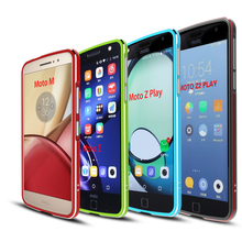Luxury Shockproof Bumper Case for Motorola Moto Z2 Play Aluminum Metal Frame For Z Phone Cases M
