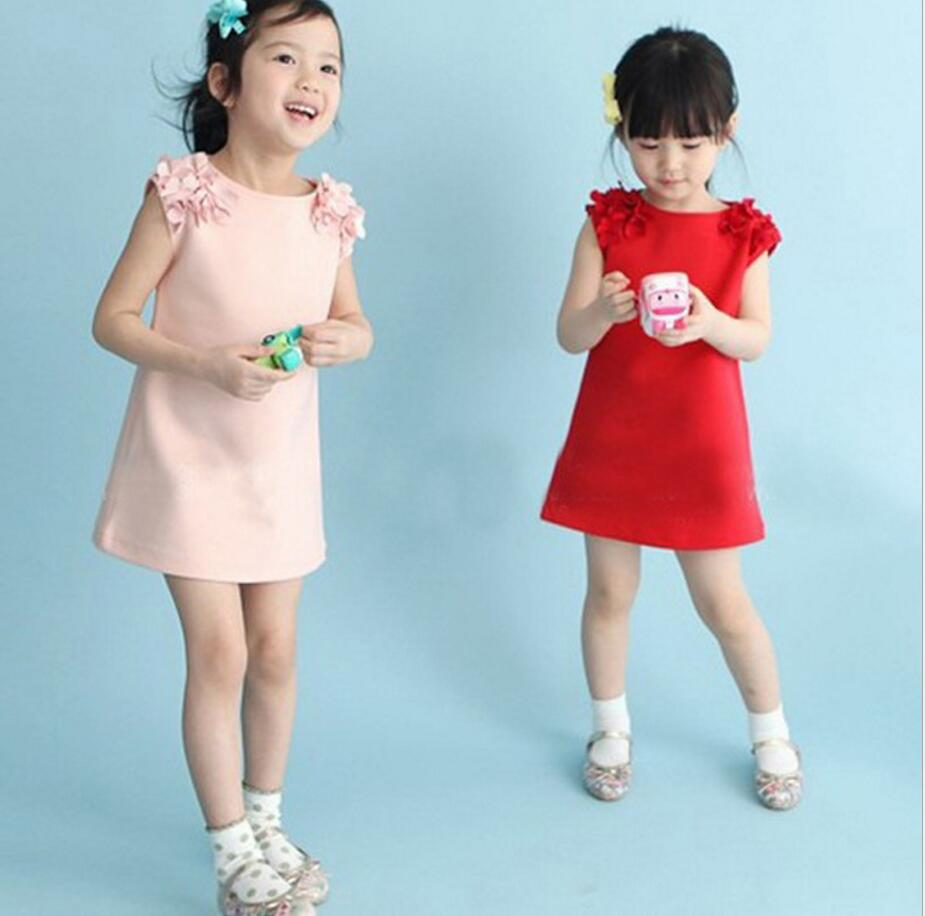 Summer princess baby girls dress for child wear Wedding Pageant ...