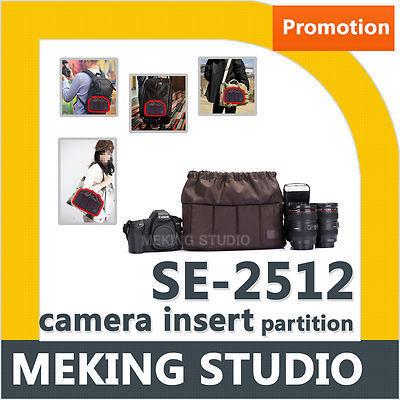 Selens Camera Insert Bag SE-2512 Multi Padded Insert Bag Camera Partition