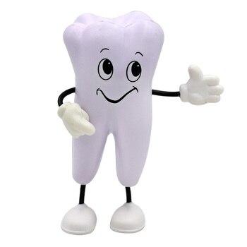 5 uds. Dental FORMA regalo alta calidad Dental dientes tipo Material clínica Odontología modelo de diente suave PU regalo