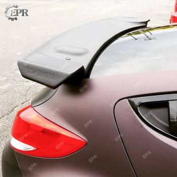FRP Roof Wing Lip For Hyundai Veloster Glass Fiber Sequence Style Rear Spoiler (Turbo) Tuning Trim Accessories For Veloster