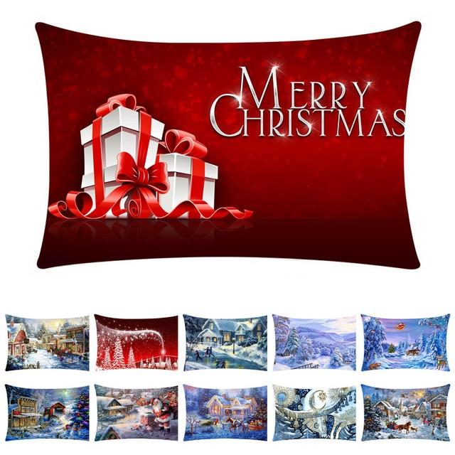 Decorazioni di natale Per La Casa Nuovo Anno Decorazione Di Buon Natale Cuscino