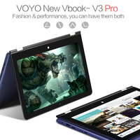 VOYO V3PRO Laptop Tablet PC Notebook 13.3inch IPS Touch Screen 8GB DDR3L 128GB SSD WiFi BT4.0 12000mAh Battery with Stylus Pen
