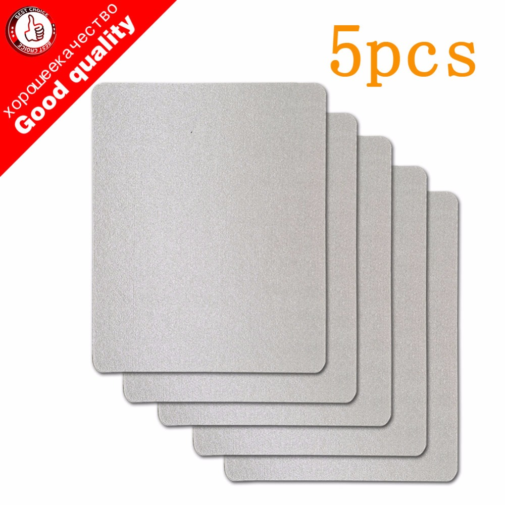 5pcs Microwave Oven Repairing Part 1.5 X 1.2m Mica Plates Sheets For Galanz Midea Panasonic LG Etc.. Microwave High Quality