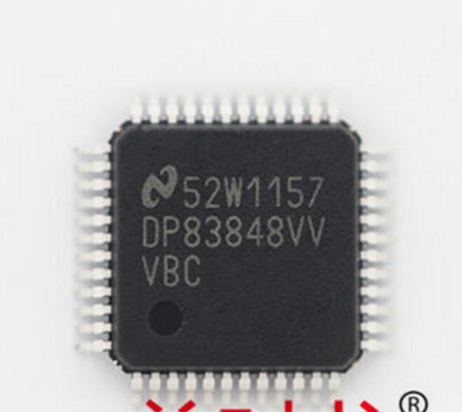 DP83848 QFP48 PHY 1 CH 10Mbps 100Mbps 48 Pin LQFP DP83848CVV