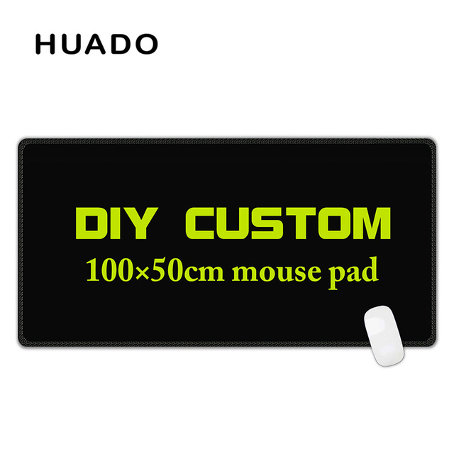 Black Mouse Pad for gamer large mouse mats big mousepad gamepad for steelseries/world of warcraft/cs go/dota/overwatch/starcraft 5