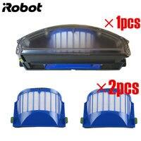 Новый для iRobot Roomba 500 600 серии Aero Vac пыли Bin фильтр Aerovac bin collecter 510 520 530 535 540 536 531 620 630 650