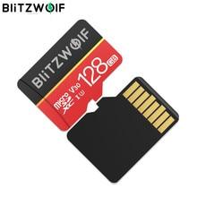 BlitzWolf BW-TF1 Clase 10 UHS-1 GB 16GB 32GB UHS-3 V30 GB 64GB 128GB tarjeta de memoria Micro SD con adaptador de almacenamiento interno
