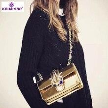 Luxury Designer Lady Swallow Lock Messenger Bags Famous Bran