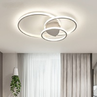 Master bedroom lamp simple modern LED ceiling lights Nordic round room lamp study lamp Creative personality lamp