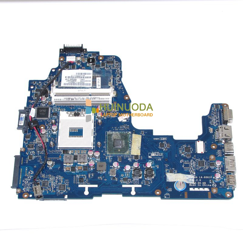 ФОТО NWQAA LA-6061P K000104250 Mainboard for toshiba Satellite A660 laptop motherboard HM55 DDR3 warranty 60 days