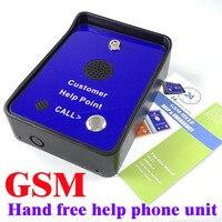 Self service kiosk vending machine service help gsm intercom phone