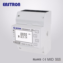 Power-Analyser Pv-Solar-System Multi-Function Output-Rs485 Sdm630modbus V2 3p4w Pulse