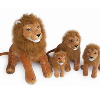 Fancytrader Big Animal Lion Toy Stuffed Soft Plush Emulational Lion Pictures Props Kids Gift 27'' / 68cm Free Shipping