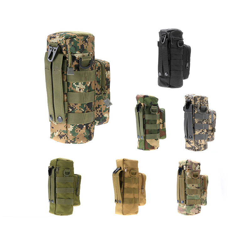 Outdoor Sport Camouflage Military Tactical Molle Travel Water Bottle Bays Outlook Kettle Carrier Holder Hiking Bicycle Camping сервер outlook