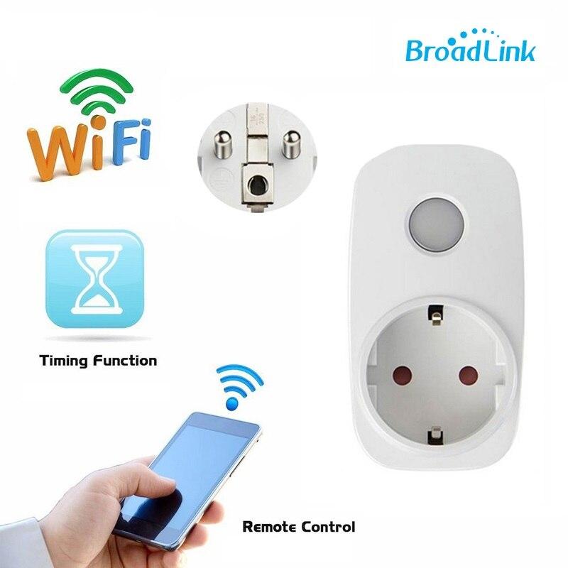 EU socket Broadlink sp3 contros smart remote socket outlet 3s