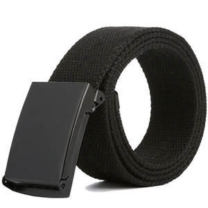 Waist Belt Jeans Canvas Ceinture Army Male Tactical Femme Unisex Casual Fashion Luxury