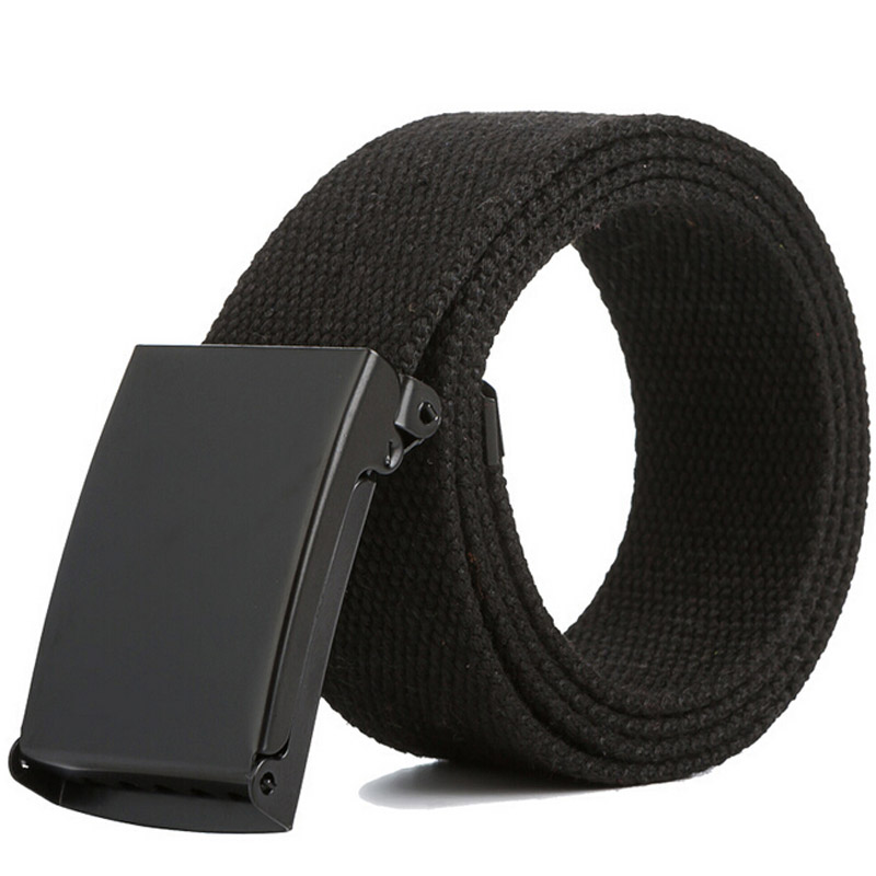 Men Belt 2020  Fashion Unisex Army Tactical Waist Belt Jeans Male Casual Luxury Canvas Webbing Waistband Ceinture Femme