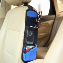 1 Pc Useful Car Interior Seat Covers Hanging Bags Collector Organizing Bag with Storage Pockets Seat Bag of Chair Side