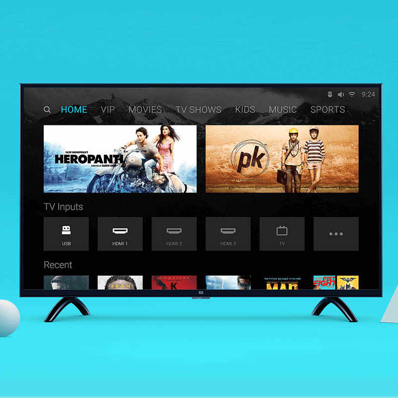 Global Xiaomi HD-Ready Smart 4A 32 inches TV pro 1366x768 Mi LED 32