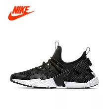 Оригинальный Новое поступление Аутентичные NIKE Air Huarache Drift BR мужские кроссовки дышащая Спортивная обувь Открытый хорошее качество